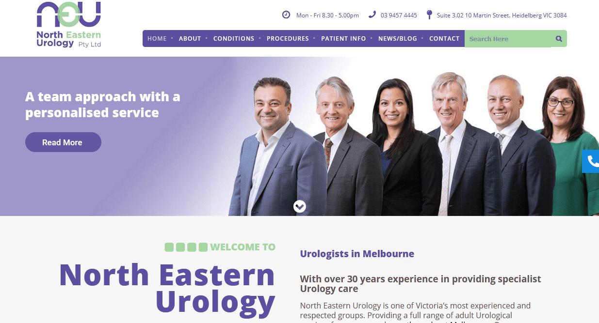 eastern urology associates)