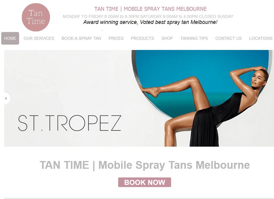 slimming spray tan melbourne